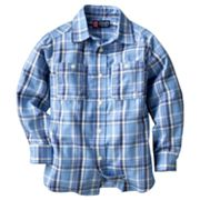 Chaps Plaid Work Button-Down Shirt - Toddler