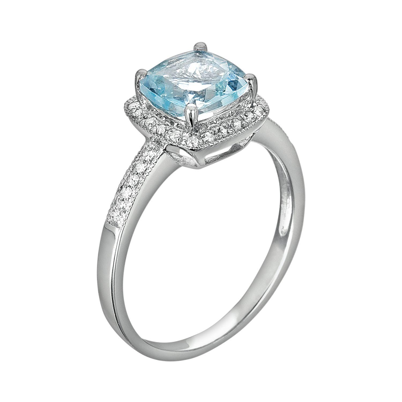 Blue Diamond Rings Jewelry
