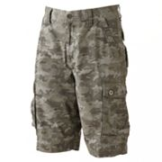 Helix Camouflage Canvas Shorts - Men
