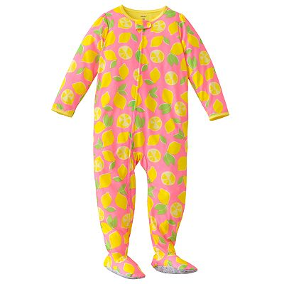 Carter's Lemon Footed Pajamas - Toddler