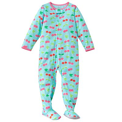 Carter's Cherry Footed Pajamas - Toddler
