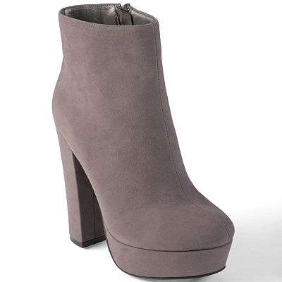 Journee Collection Tasha Platform High Heel Booties - Women
