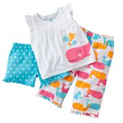 Carter's Whale Pajama Set - Toddler