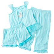 Carter's Glitter Castle Pajama Set - Toddler