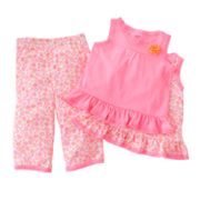 Carter's Floral Pajama Set - Toddler