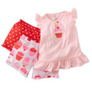 Carter's Cupcake Pajama Set - Toddler