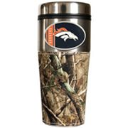 Denver Broncos Open Field Travel Tumbler