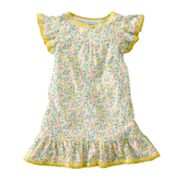 Carter's Floral Neon Nightgown - Toddler