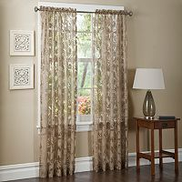 Maytex Window Wear Pamela Sheer Window Panel - 54'' x 84''