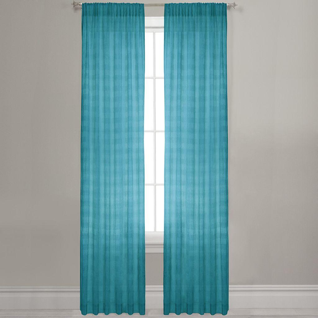 Maytex Window Wear Lynette Sheer Window Panel - 40'' x 84''