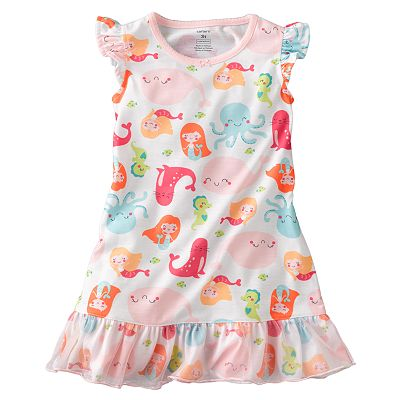 Carter's Mermaid Nightgown - Toddler