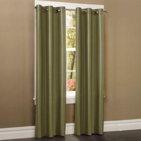Maytex Window Wear Faux-Silk Window Panel - 40'' x 84''