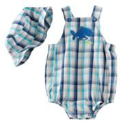 First Moments I Won't Bite Sunsuit and Sun Hat Set - Baby