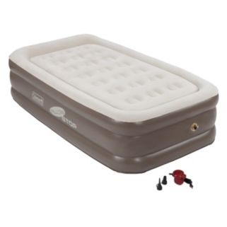 Coleman Quickbed Double-High Air Bed with Pump - Twin