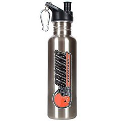 Cleveland Browns Stainless Steel Water Bottle