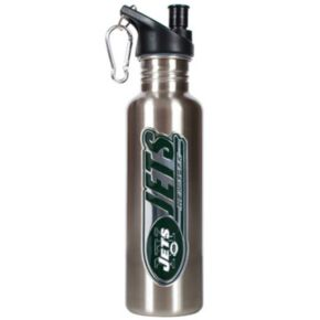 New York Jets Stainless Steel Water Bottle