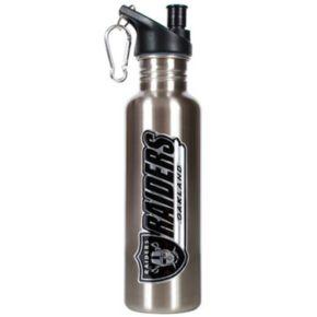 Oakland Raiders Stainless Steel Water Bottle