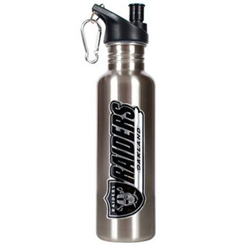 Oakland Raiders Stainless Steel Water Bottle