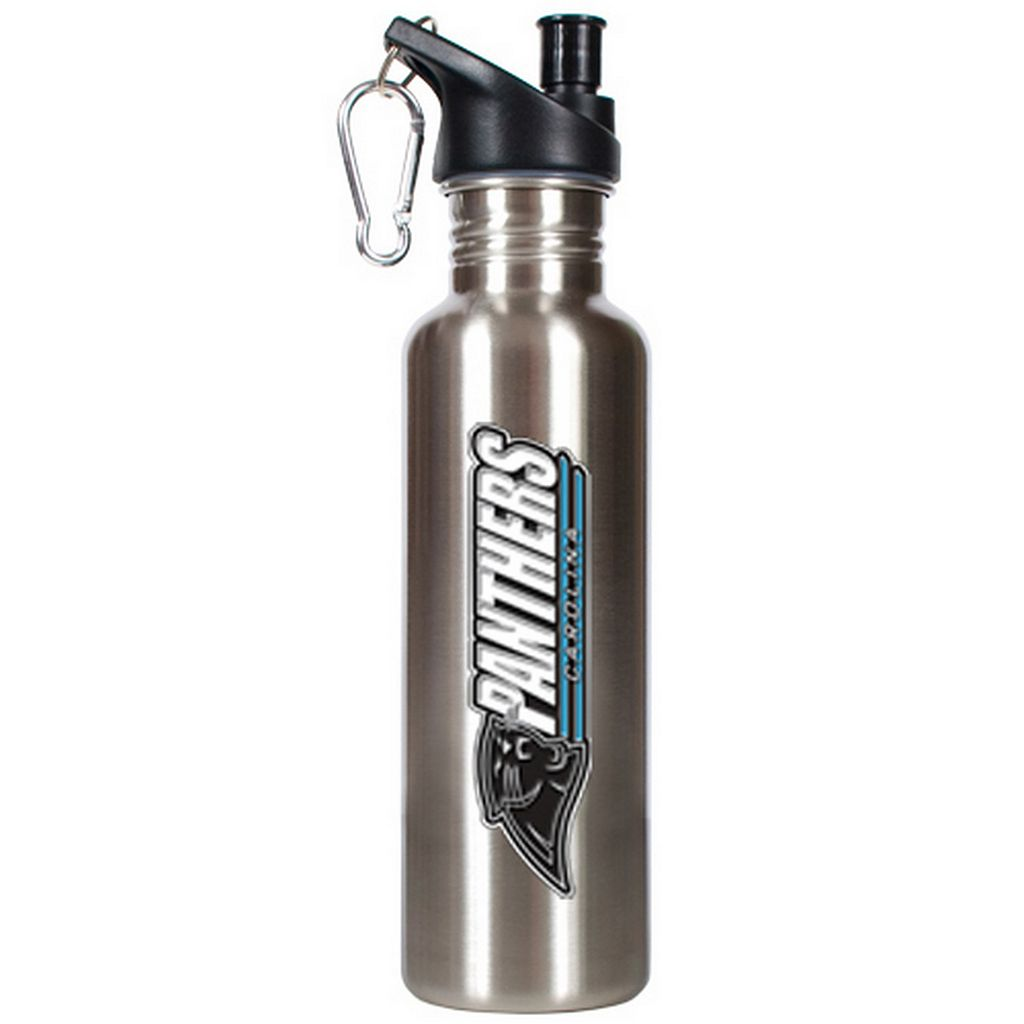 Carolina Panthers Stainless Steel Water Bottle