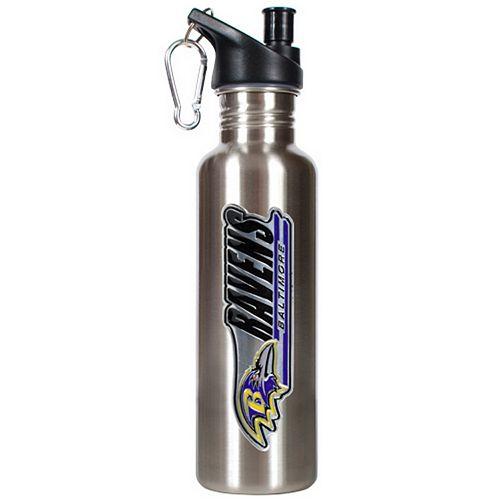 Baltimore Ravens Stainless Steel Water Bottle