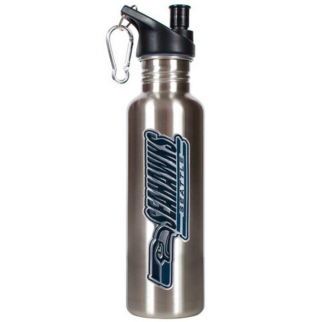 Seattle Seahawks Stainless Steel Water Bottle
