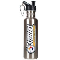 Pittsburgh Steelers Stainless Steel Water Bottle
