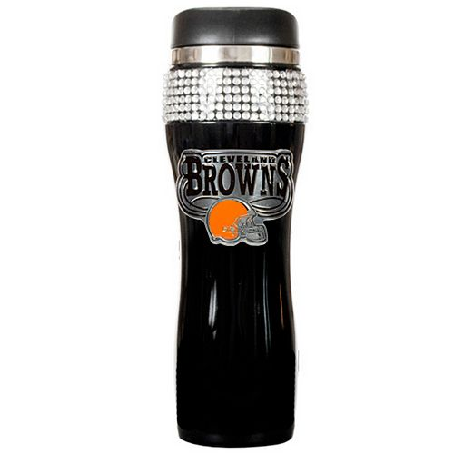 Cleveland Browns Stainless Steel Bling Tumbler