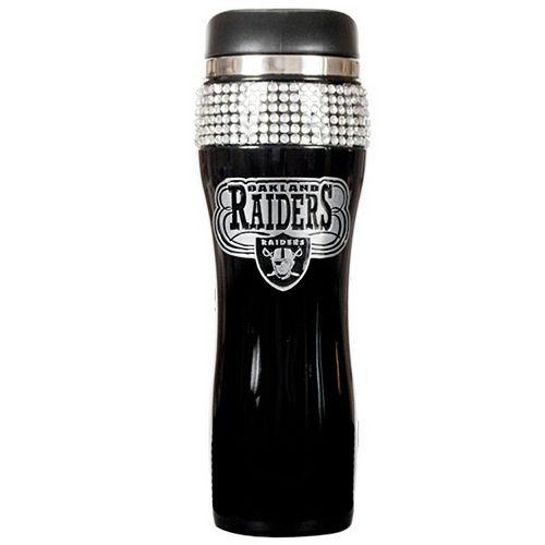 Oakland Raiders Stainless Steel Tumbler
