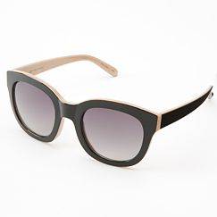 LC Lauren Conrad San Clemente Retro Two-Tone Sunglasses
