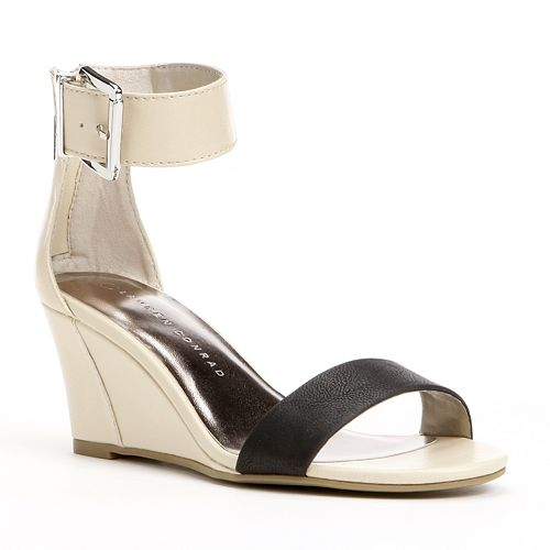 LC Lauren Conrad Josephine Blush Open Toe Platform Heel