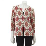 Croft and Barrow Medallion Cardigan