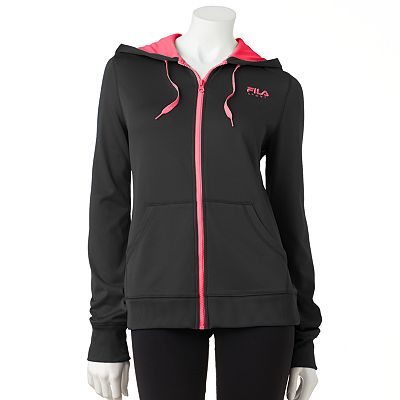 FILA SPORT Power Hooded Performance Jacket