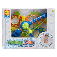 ALEX Fishing in the Tub