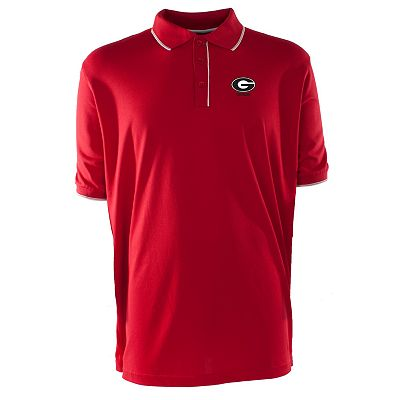 Georgia Bulldogs Elite Desert Dry Xtra-Lite Pique Polo - Men