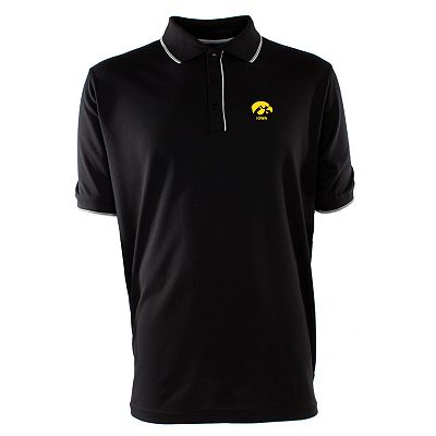 Iowa Hawkeyes Elite Desert Dry Xtra-Lite Pique Polo - Men