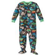 Carter's Dinosaur Footed Pajamas - Baby