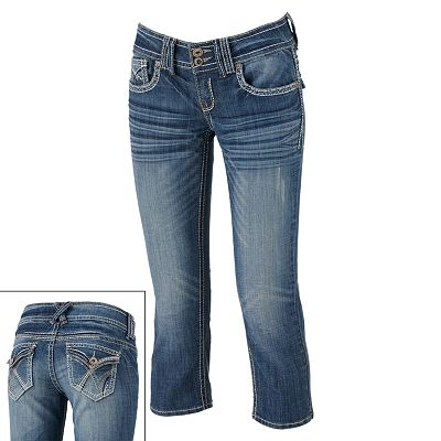 Hydraulic Denim Capris - Juniors