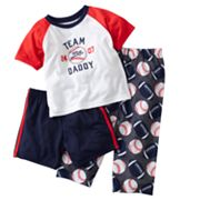 Carter's Team Daddy Pajama Set - Baby