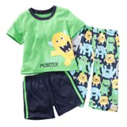 Carter's Sleepy Monster Pajama Set - Baby
