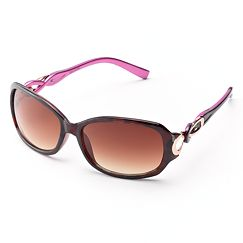 daisy fuentes Braided Square Sunglasses
