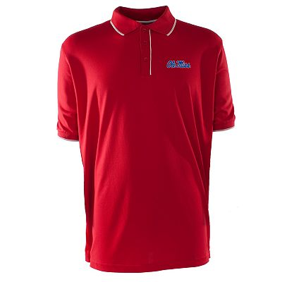 Ole Miss Rebels Elite Desert Dry Xtra-Lite Pique Polo - Men