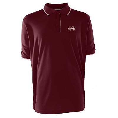 Mississippi State Bulldogs Elite Desert Dry Xtra-Lite Pique Polo - Men