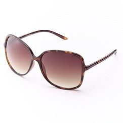 daisy fuentes Oversized Square Sunglasses