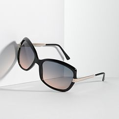 Simply Vera Vera Wang Something Borrowed Square Sunglasses