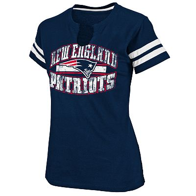 New England Patriots Go for Two II Tee - Women's Plus
