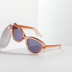 Simply Vera Vera Wang Colored Cat's-Eye Sunglasses