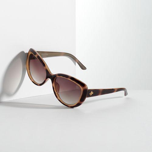 Simply Vera Vera Wang Colored Cat's-Eye Sunglasses