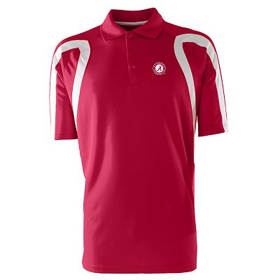 Alabama Crimson Tide Point Desert Dry Xtra-Lite Pique Polo - Men
