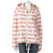 SONOMA life + style Striped French Terry Hoodie