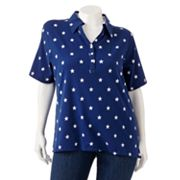 Cathy Daniels Star Polo - Women's Plus